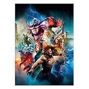 Хардпостер (на твёрдой основе) Aquaman